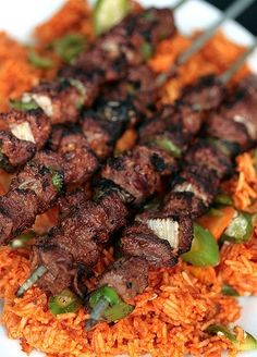 grilled kababs Middle East
