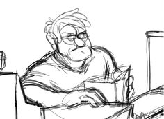 awesome gif of young stan<--- the glasses are a bit round so it could be…