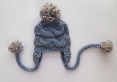 Newborn Baby Boy Hat, Baby Boy Hat Photo Prop  by KnittingLand, $19.50