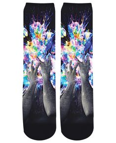 Artistic Bomb Crew Socks https://shop.ragejunkie.com/collections/crew-socks/products/artistic-bomb-crew-socks