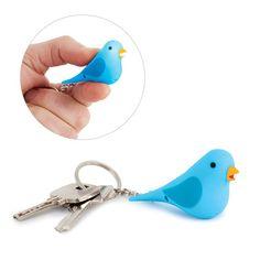 25622Key ring Tweet with sound display x16