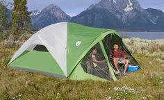 Amazon.com : Coleman Evanston 8 Screened Tent : Family Tents : Sports & Outdoors