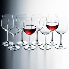 Red Wine Glass Set Of 16, $44, now featured on Fab.