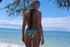 ad8716e1f LANI KAI  REVERSIBLE Cheeky Brazilian Bikini by PeaceOfParadise Brazilian  Bikini