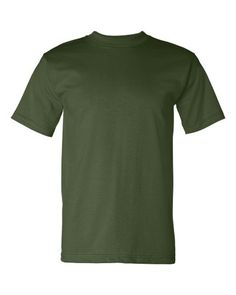 USA-made basic in 16 classic colors in extended sizes to help fit everyone. Screen Printing, Men's Fashion, Usa, Colors, Classic, Casual, Mens Tops, T Shirt, Clothes