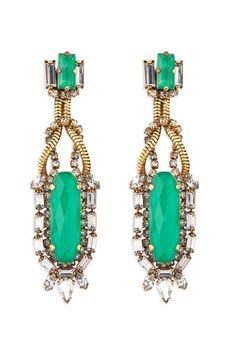 Yours to Keep Emerald Earrings
