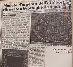 89 monete dell'epoca dei Borboni ritrovate a Grottaglie nel 1962. Che fine hanno fatto? - http://www.grottaglieinrete.it/it/89-monete-dellepoca-dei-borboni-ritrovate-a-grottaglie-nel-1962-che-fine-hanno-fatto/ -   monete, ritrovamento - #Monete, #Ritrovamento