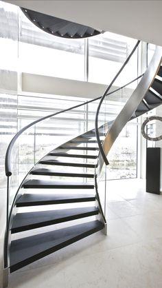 Contemporary Home Interior Staircase