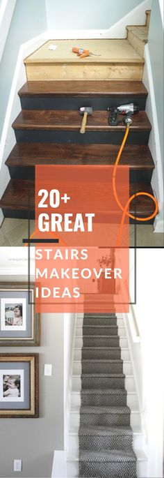 Stair Storage, Storage Chest, Stair Renovation, Stair Makeover, Storage Ideas, Foyer, Home Improvement, Easy Diy, Stairs