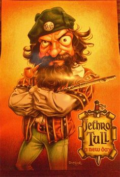 A NEW DAY - Jethro Tull Posters