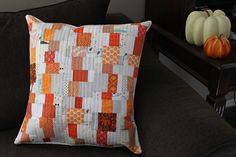 Teaginny Designs: Wonky Stacks Pillow