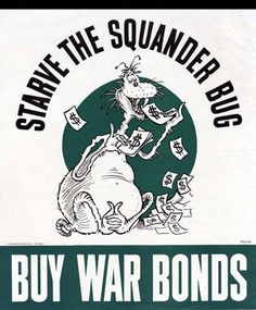 American Propaganda Poster --Dr. Seuss illustration. From the Truman Presidential Library Web Site