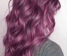 aveda purple hair color | Brown underneath is so pretty, but purple or somethings fun too.