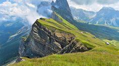 Espectaculares paisajes del mundo Montañas Odle, Italia