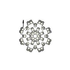 03_Peyote-circular-esquema Peyote Beading, Brick Stitch, Beading Patterns, Seed Beads, Diy Jewelry, Tassels, Diy And Crafts, Crochet, Pom Poms