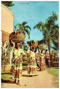 Vintage Haiti, Port-au-Prince 1963