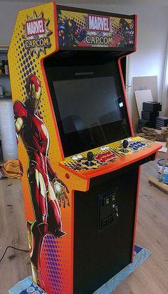 Marvel vs. Capcom #arcade #marvel #capcom