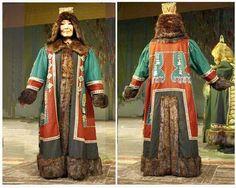 Якутский национальный костюм фотография