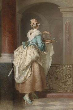 (The Birthday Cake), 1875, Pancraz Korle (1823-1875
