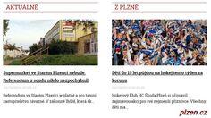 Aktuálně http://plzen.cz/category/zpravodajstvi/aktualne/ Plzeňské aktuální zprávy - zprávy Plzeň aktuálně - zpravodajství Plzeň - Zpravodajský portál plzen.cz. VŽDY AKTUÁLNĚ.