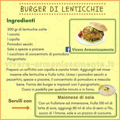 """Le Nutrizioniste on Instagram: """"#burger #vegetale #lenticchie #ricettesane #ricetteestive #losapeviche #alimentazionesana #superfood #healthyeating #healthylifestyle…"""""""