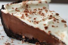 Malted Chocolate Silk Pie
