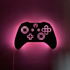 Game Room Decor, Room Setup, Xbox Controller, Gaming Wallpapers, Color Changing Led, Iphone Wallpaper, Fall Wallpaper, Pastel Wallpaper, Video Game Art