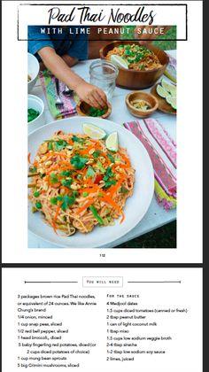 DINNER - Pad Thai Noodles