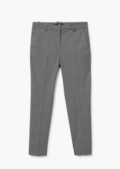 Anzughose aus baumwolle | MANGO