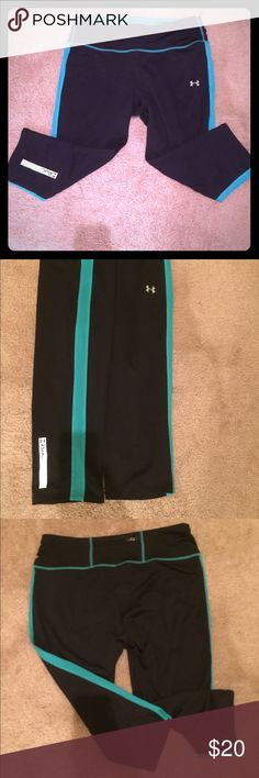 Under Armour fitted workout Capri Under armour medium fitted workout Capri Under Armour Pants Capris