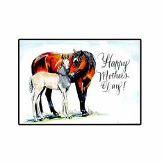 Mother's Day Horse Card by hilink on Etsy, $4.50