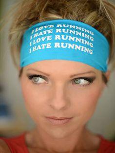Hippie Runner - I LOVE RUNNING/I HATE RUNNING, $7.00 (http://www.hippierunner.com/i-love-running-i-hate-running/)