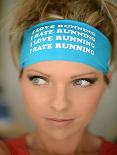 Hippie Runner - I LOVE RUNNING/I HATE RUNNING, $7.00 (http://www.hippierunner.com/i-love-running-i-hate-running/)