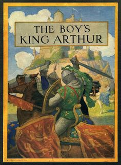 N. C. Wyeth   The Boy's King Arthur   Published by Charles Scribner's Sons ~ 1919