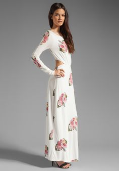 Dress - PENCEY STANDARD Open Back Dress in Floral at Revolve Clothing - Free Shipping!
