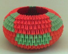 3D Origami – Large Bowl