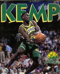 4693671c81dff 36 best Shawn 'Rainman' Kemp images | Nba players, Basketball ...
