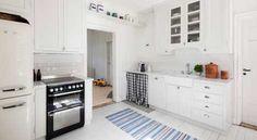 Skynke för diskmaskin - Nytt kök i gammalt hus