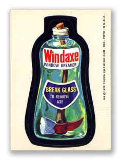 Wacky Packages Topps 13th Series: Windaxe
