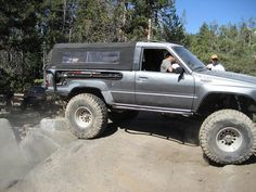 it would be cool to chop a 2nd or 3rd gen 4runner and make a soft top like this for it