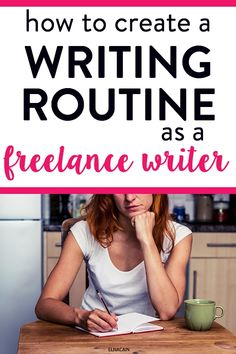 Learn how to create a writing routine and writing tips as a freelance writer. How do you fit writing every day? Learn the writing process and writing process when you work at home.
