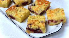 buchta-na-plech-se-svestkami Cookie Bars, Bar Cookies, Kefir, Muffin, Breakfast, Cakes, Morning Coffee, Cake Makers, Kuchen