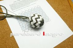 beautiful pineapple globe knot