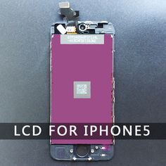 For Iphone 5 LCD Display White Touch Screen Digitizer Assembly Replacement  No Dead Pixel AAA Quality Black free shipping