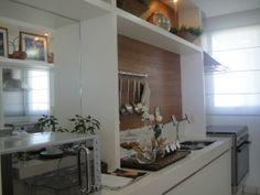 Espelho na cozinha