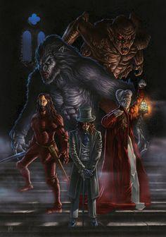 """Dracula"" From Bram Stoker's Directed by Frances Ford Coppola, Artwork by Phrenan @ deviantart Gothic Horror, Horror Art, Horror Movies, Bram Stoker's Dracula, Count Dracula, Gothic Fantasy Art, Horror Pictures, Vampires And Werewolves, Vampire Art"