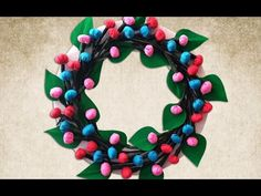 Easy DIY Christmas Wreath : How to Make Beautiful Christmas Wreath for Home Decoration?