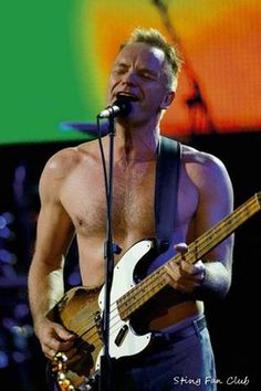 Sting, my husband won't like this one either. | Please don't tell me he's around 60 in this one!