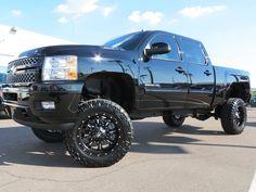 lifted jacked Chevy Chevy Pickup Trucks, Chevrolet Trucks, Jeep Truck, Lifted Trucks, 2010 Chevy Silverado, Silverado Truck, Truck Rims And Tires, Future Trucks, New Trucks