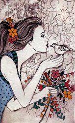 South African artist Anine Barnard Fine Arts Degree, South African Artists, International Artist, Local Artists, Illustration Art, Illustrations, Beautiful Birds, Cute Art, Collage Art